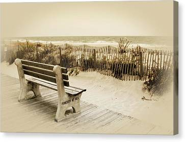 Forever At Sea - Jersey Shore Canvas Print