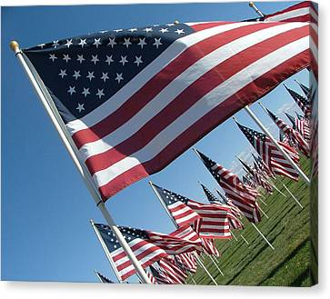 Forever Flags Canvas Print