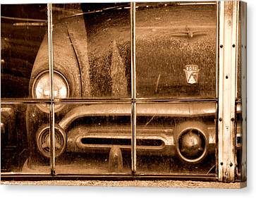Canvas Print featuring the photograph Forever Ford by Al Swasey