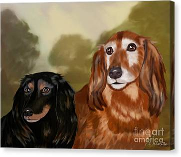 Forever Friends Canvas Print by Linda Marcille