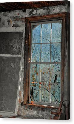 Forever Is Not Found Here Canvas Print by Jan Amiss Photography