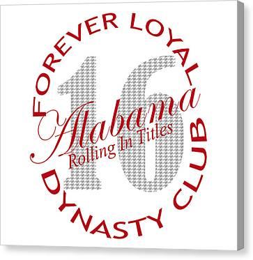 Forever Loyal Dynasty Club Canvas Print by Greg Sharpe