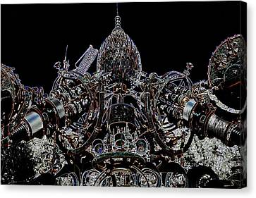 Forevertron Canvas Print by Tya Kottler