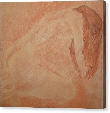 Forgive Me Canvas Print by Lj Lambert