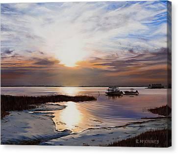 Forgotten Coast Canvas Print by Rick McKinney