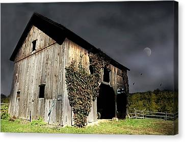 Litchfield County Canvas Print - Forgotten by Diana Angstadt