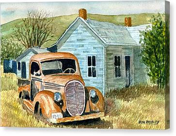 Forgotten Canvas Print by Don Bosley