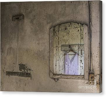 Abandoned Houses Canvas Print - Forgotten Dream by Terry Rowe