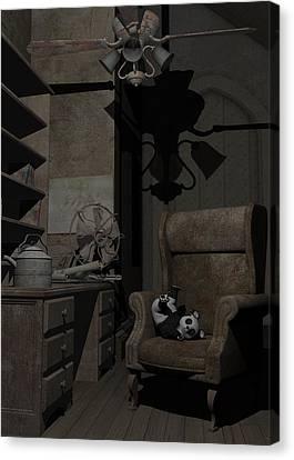 Forgotten Friend Canvas Print by Sipo Liimatainen
