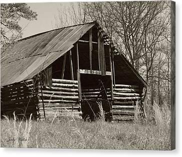 Forgotten Hay Barn Canvas Print