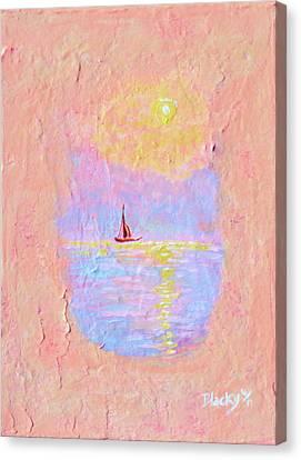 Forgotten Joy Canvas Print by Donna Blackhall