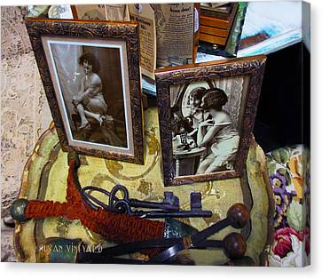 Forgotten Ladies Canvas Print