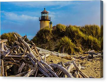 Forgotten Lighthouse Canvas Print by Garry Gay
