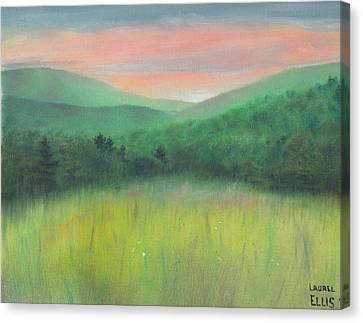 Forgotten Meadow Canvas Print by Laurel Ellis