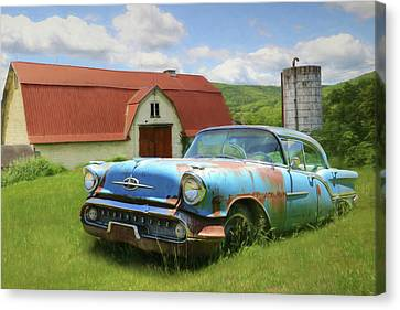 Forgotten Olds Canvas Print