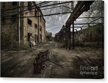 Forgotten Place Canvas Print by Svetlana Sewell