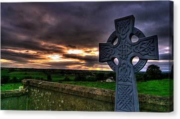 Forgotten Realms Canvas Print by Kim Shatwell-Irishphotographer