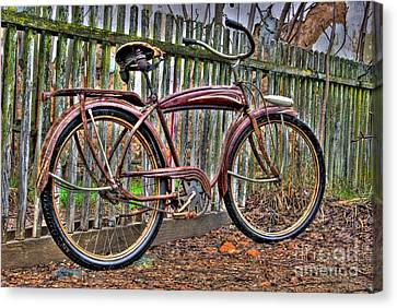 Canvas Print featuring the photograph Forgotten Ride 1 by Jim and Emily Bush
