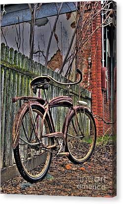 Canvas Print featuring the photograph Forgotten Ride 2 by Jim and Emily Bush
