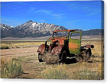 Canvas Print featuring the photograph Forgotten by Robert Bales