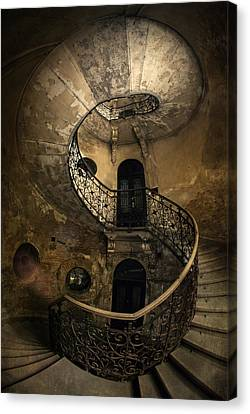 Forgotten Staircase Canvas Print