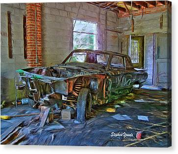 Forgotten Canvas Print by Stephen Younts