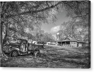 Forgotten Times Georgia Farm Scene Art Canvas Print by Reid Callaway