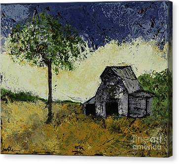Forgotten Yesterday Canvas Print