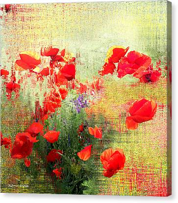 Canvas Print featuring the photograph Formas Y Flores by Alfonso Garcia