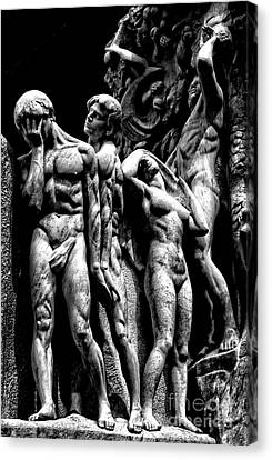 Canvas Print featuring the photograph Forms In Marble by Paul W Faust - Impressions of Light