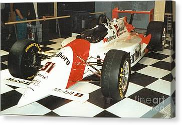 Formula Canvas Print by Frederick Holiday