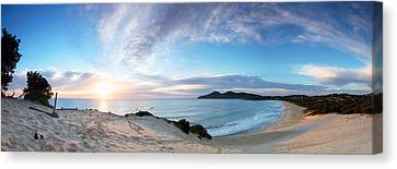Forster One Mile Beach Canvas Print