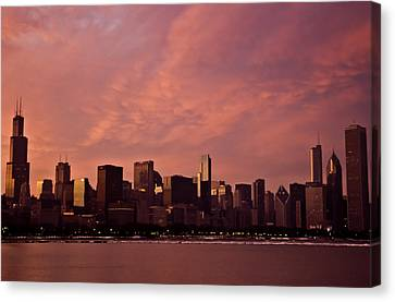 Fort Dearborn Canvas Print by Michael Nowotny