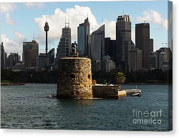 Fort Denison Sydney Canvas Print