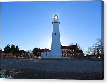 Fort Gratiot Lighthouse Canvas Print