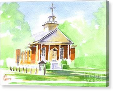 Fort Hill Methodist Church 2 Canvas Print by Kip DeVore
