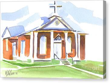 Fort Hill Methodist Church Canvas Print by Kip DeVore