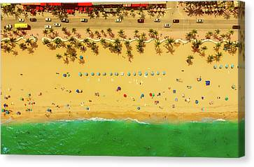 Fort Lauderdale Florida Canvas Print by Lance Asper