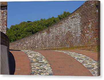 Fort Macon Canvas Print by Betsy Knapp