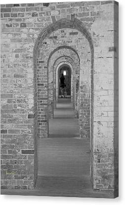 Fort Macon Going Home Canvas Print by Betsy Knapp