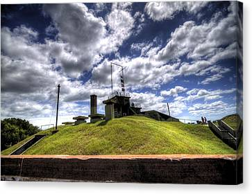 Sullivan Canvas Print - Fort Moultrie Bunker by Dustin K Ryan