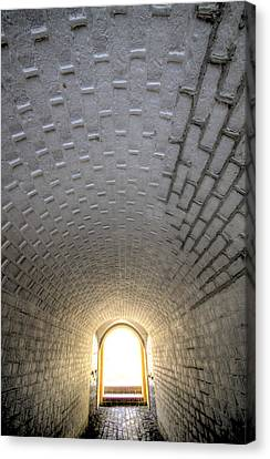 Sullivan Canvas Print - Fort Moultrie Bunker Tunnel by Dustin K Ryan