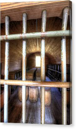 Sullivan Canvas Print - Fort Moultrie Powder Magazine by Dustin K Ryan