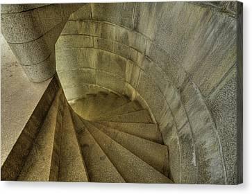 Fort Popham Stairwell Canvas Print