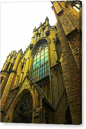 Canvas Print - Fort Street Presbyterian Church by Guy Ricketts
