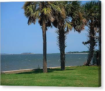 Fort Sumter Charleston Sc Canvas Print