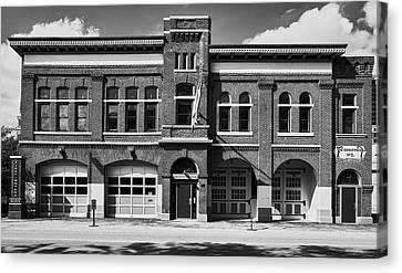 Fort Wayne Firefighters Museum Canvas Print by L O C