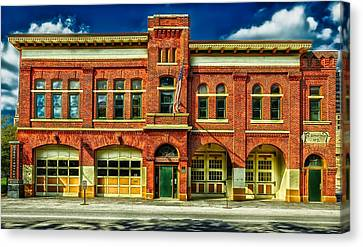 Fort Wayne Firefighters Museum Canvas Print by Mountain Dreams