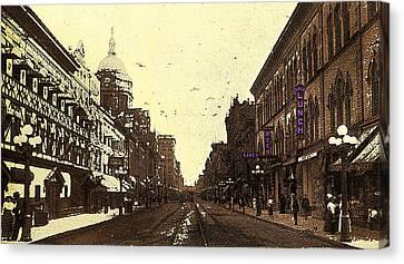 Fort Wayne Indiana 1913 Canvas Print