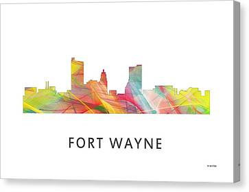 Indiana Landscapes Canvas Print - Fort Wayne Indiana by Marlene Watson